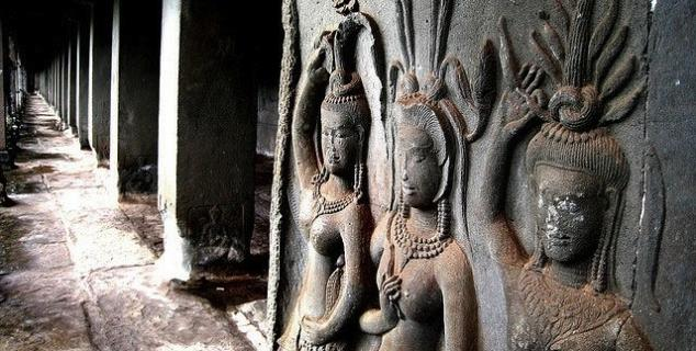 Apsara Dancer reliefs