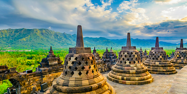 Borobodur Temple, Java