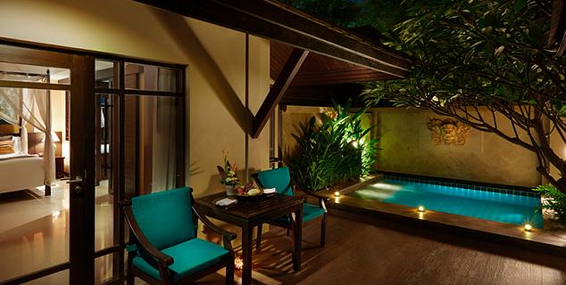 Bo phut resort spa jasmine holidays for Garden plunge pool uk