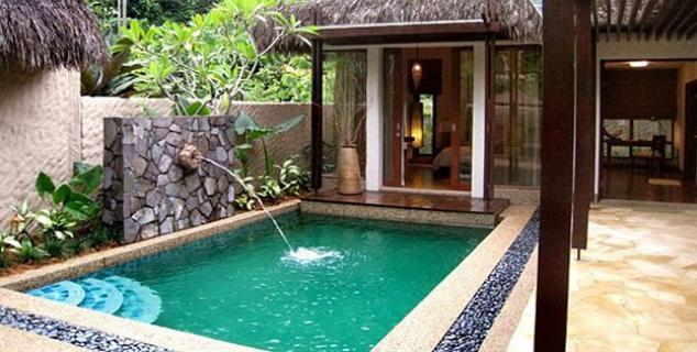 Banjaran hotsprings ipoh malaysia jasmine holidays for Garden plunge pool