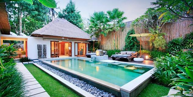 The purist bali jasmine holidays for Garden pool villa ubud