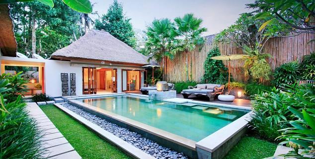 The purist bali jasmine holidays for Garden pool villa ubud village resort