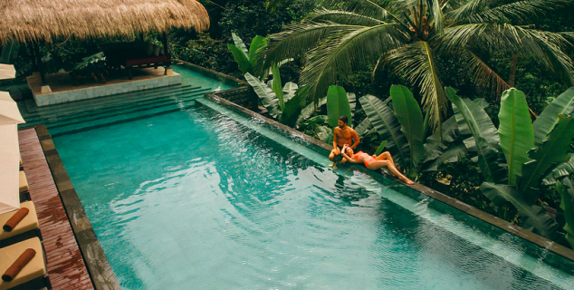 Hanging Gardens Of Bali. Cascading Pool. Cascading Pool. Hidden Palace