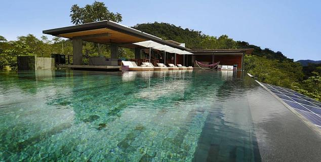Kura design villas jasmine holidays for Infinity pool design uk