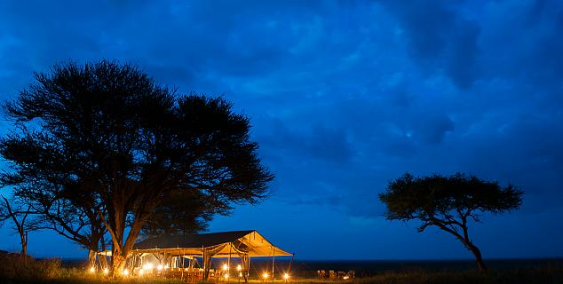 Luxury in the Serengeti