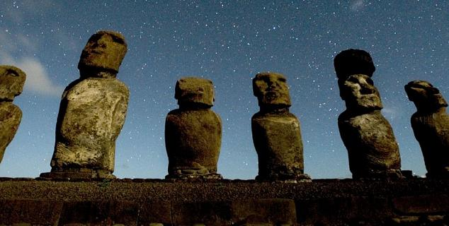 Moai Sculptures