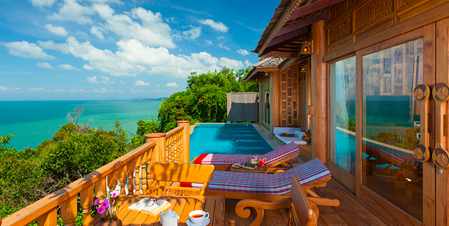 Ocean View Pool Villa Suite