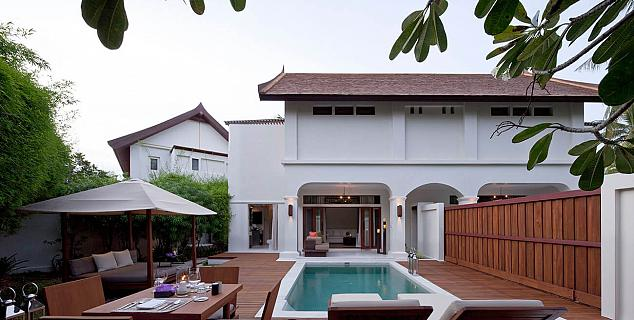 One Bedroom Pool Duplex Villa Suite