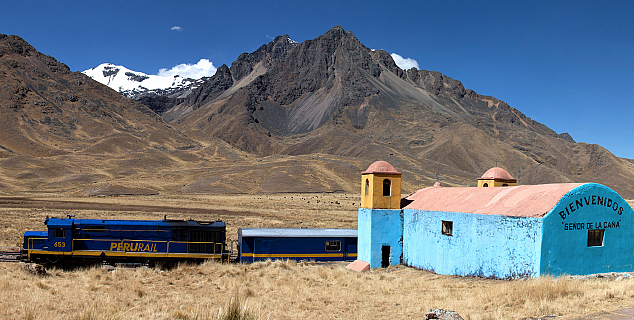 Rail across the Andes