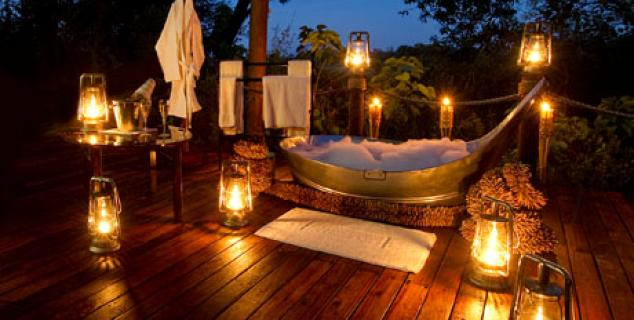 Sanctuary Baines Camp - Star bath