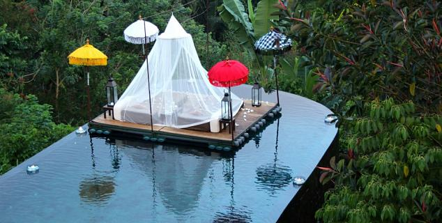 Special locations, Ubud Hanging Gardens
