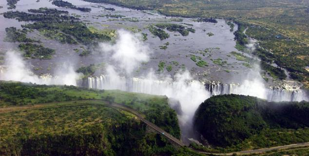 The great Victoria Falls