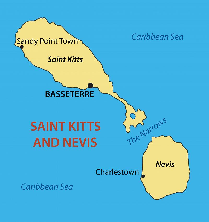 Who Flies To St Kitts: St. Kitts & Nevis